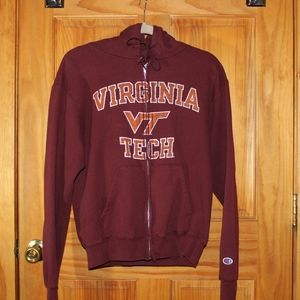 Virgina Tech Champion Zip Up